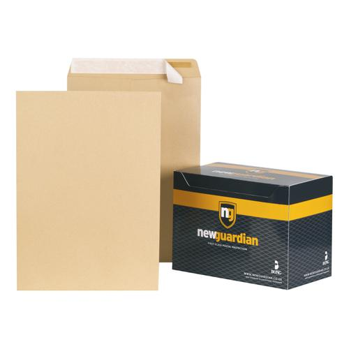 New Guardian Envelopes FSC Pocket Peel & Seal Hvyweight 130gsm C3 457x324mm Manilla Ref C27013 [Pack 125]