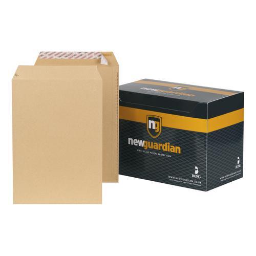 New Guardian Envelopes Pocket Peel & Seal 130gsm C4 324x229mm Manilla Ref J26339 [Pack 250]