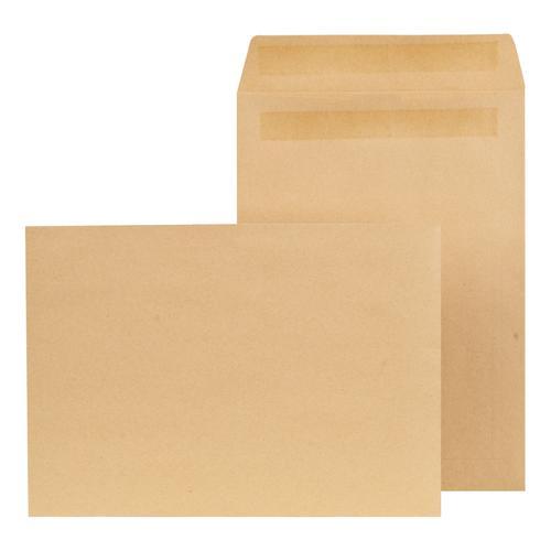 New Guardian Envelopes Pocket Self Seal Lightweight 90gsm C4 324x229mm Manilla Ref K26309 [Pack 250]