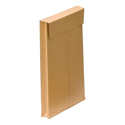 New Guardian Envelopes FSC Hvyweight Peel & Seal Gusset 130gsm 241x165x25mm Manilla Ref L27306 [Pack 100]
