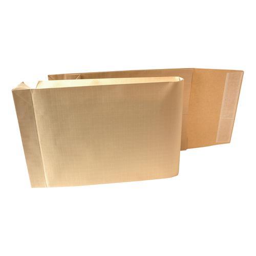 New Guardian Armour Envelopes 465x340mm Gusset 50mm Peel&Seal 130gsm Kraft Manilla Ref L28413 [Pack 100]
