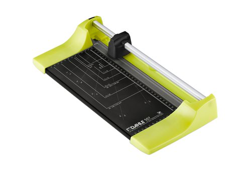 Dahle Personal Trimmer - cutting length 320 mm/cutting capacity 0.8 mm, Colour ID - lucky green