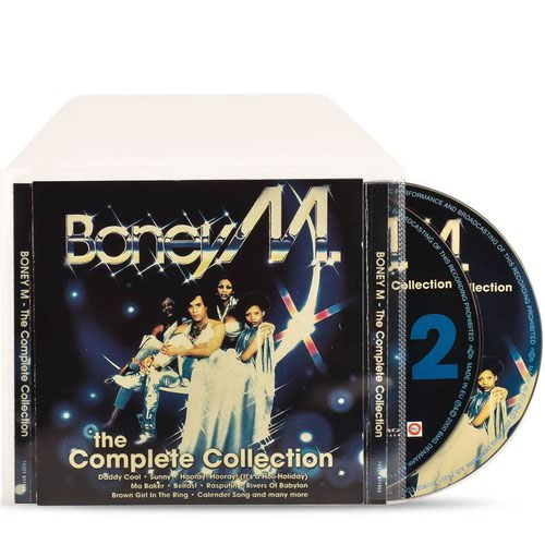 3L Double CD Sleeves With Space For Cover Pack of 50