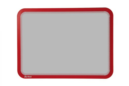 Tarifold Magneto A4 Self Adhesive Display Frame Red Pack of 2