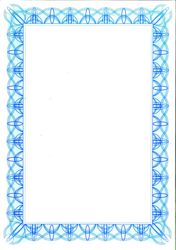 Computer Craft A4 Certificate Paper Pack 30 Blue
