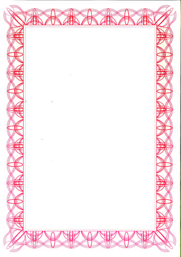 Computer Craft A4 Certificate Paper Pack 30 Red