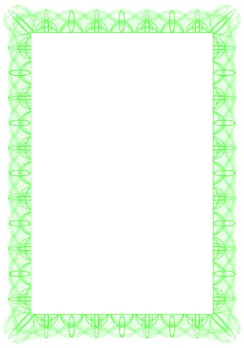 Computer Craft A4 Certificate Paper Pack 30 Green Reflex
