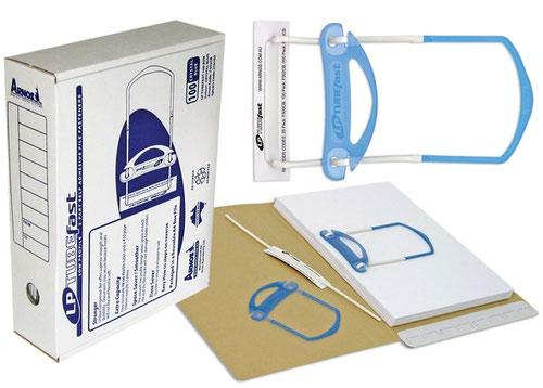 Arnos File Fasteners Self Adhesive 3-part Box of 100