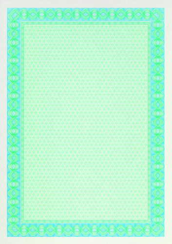Decadry A4 Certificate Paper Helicoid Blue Pack of 70