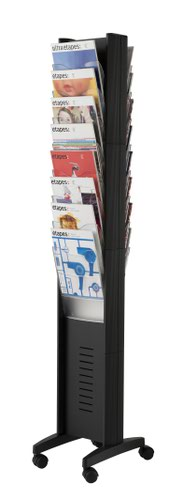 Fast Paper A4 16 Compartment Display Black