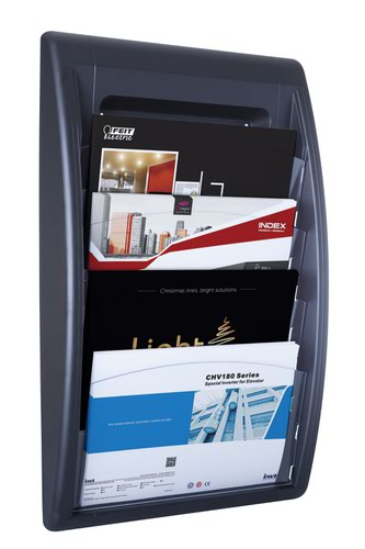 Fast Paper Oversized QuickFit Wall Display Black