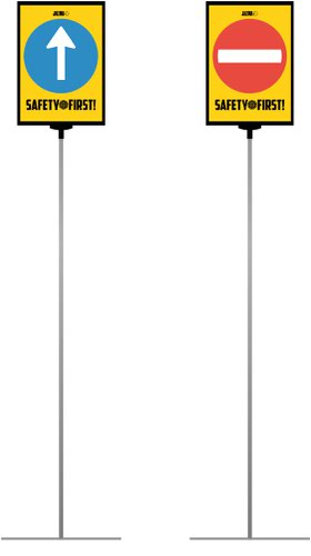 Jalema A4 Extendable Floor Stand