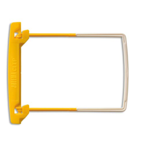 Jalema Clips Yellow / White Pack of 100