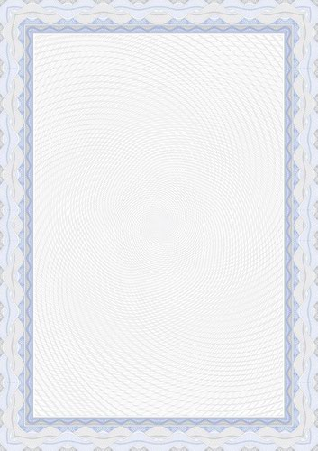 Decadry A4 Certificate Paper Blue Pack of 25