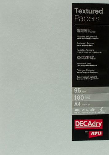 Decadry A4 Parchment Blue Paper 95gsm Pack of 100