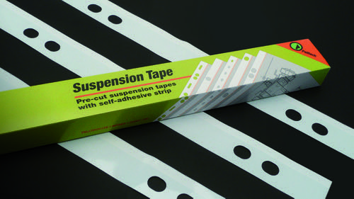 Pelltech Suspension Tape 4 Hole A1 Polyester Box of 100