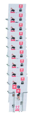 Twinco A5 9 Compartment Literature Holder