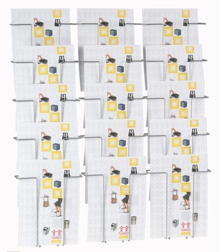 Twinco A4 15 Compartment Literature Holder