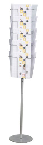 Twinco A4 15 Compartment Floor Standing Revolving Literature Holder