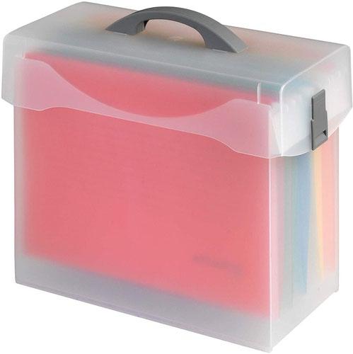 Jalema Variobox, Storage FileBox incl 5 Euroflex files Assorted