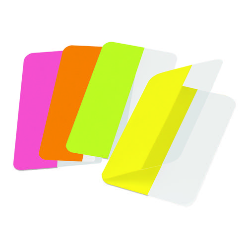 3L Index Tabs Classic Colours Pack of 72 - CARTON OF 10 PACKS