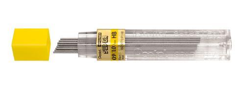 Pentel HB Refill Leads 0.9mm 50-HB PK12