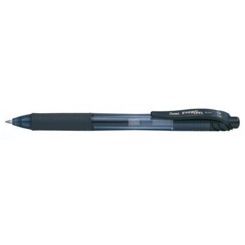 Pentel Energel X Gel Retractable 0.7mm Black PK12