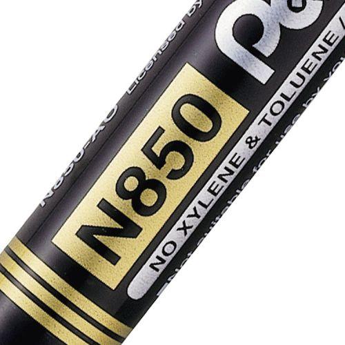 Pentel N850 Permanent Marker Bullet Tip Marker (Pack of 12) N850-AE