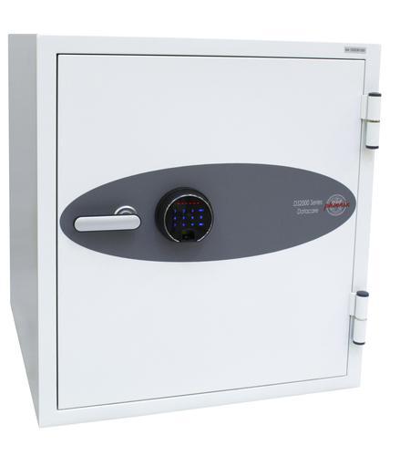 Phoenix Datacare Size 3 Data Safe Fingerprint Lock White DS2003F