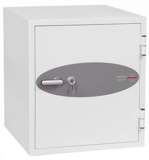Phoenix Datacare Safe 2 Hour Fire Protection High Quality Key Lock 80L 222kg W690xD720xH770mm Ref DS2003K