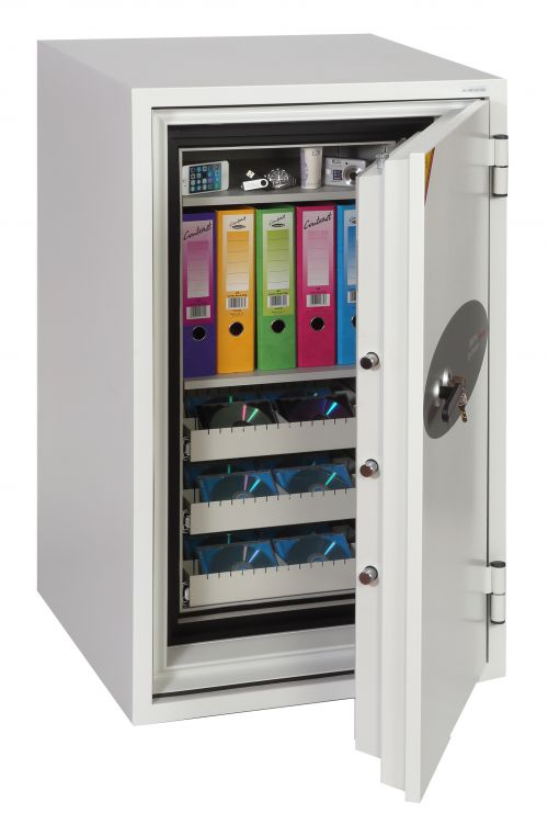 Phoenix Data Commander Size 1 Data Safe with Key Lock