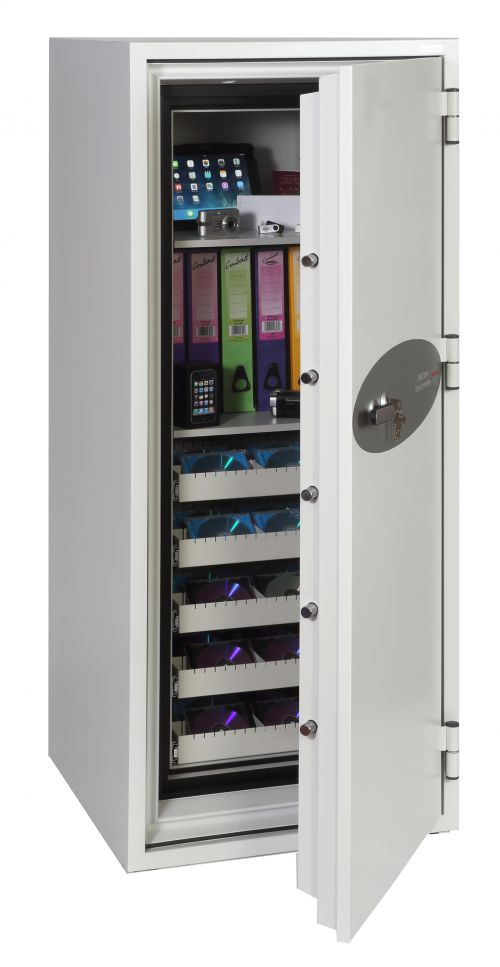 Phoenix Data Commander DS4622K Size 2 Data Safe with Key Lock