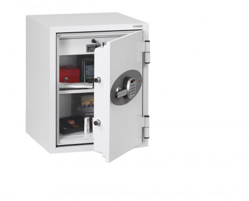 Phoenix Fire Fighter II FS0441E Size 1 Fire Safe With Electronic Lock Data Safes FS8314