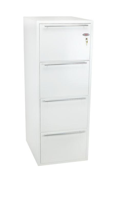 Phoenix Archivo Fire File FS2234K 4 Drawer Filing Cabinet with Key Lock