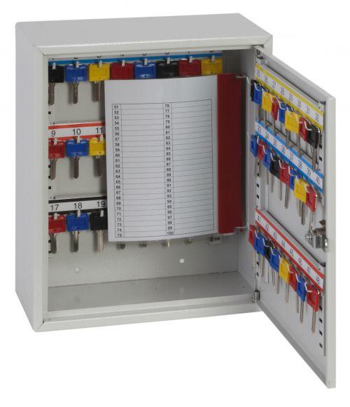 Phoenix Deep Key Cabinet KC0301E 50 Hook with Electronic Code Lock