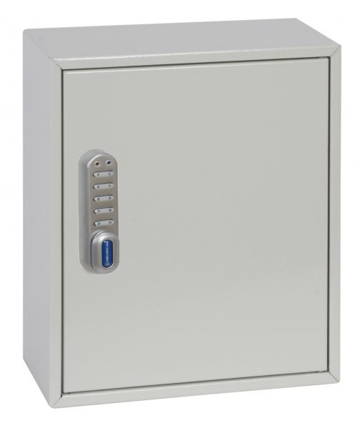Phoenix Deep Plus & Padlock Key Cabinet KC0501E 24 Hook with Electronic Code Lock