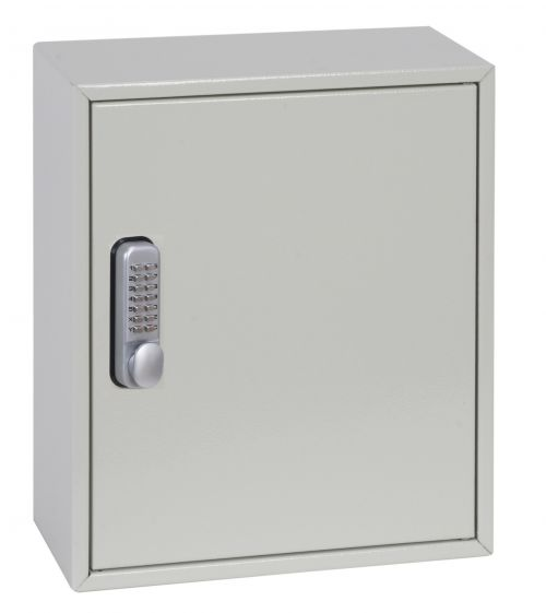 Phoenix Deep Plus & Padlock Key Cabinet KC0501M 24 Hook with Mechanical Combination Lock