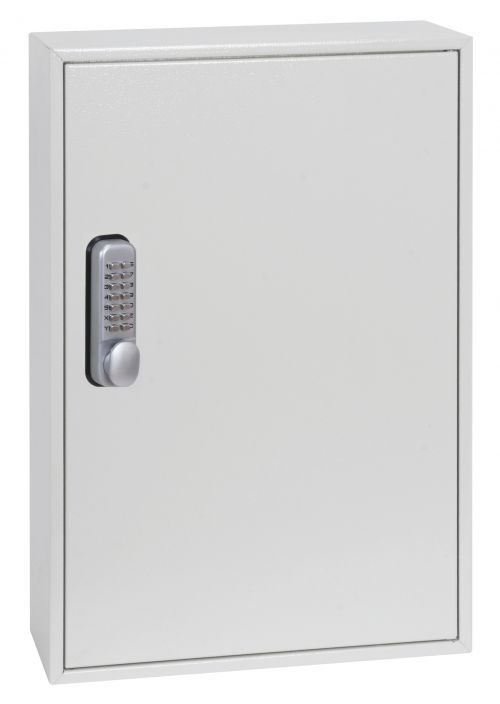 Phoenix Deep Plus & Padlock Key Cabinet KC0502M 50 Hook with Mechanical Combination Lock