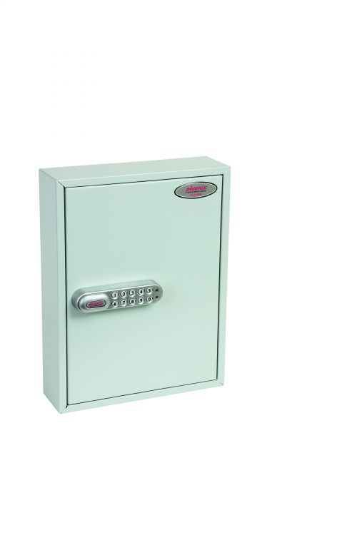 Phoenix Commercial Key Cabinet KC0601E 42 Hook with Electronic Lock.