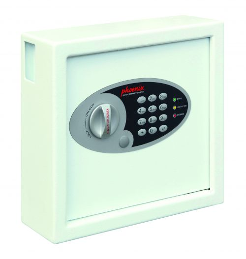 Phoenix Cygnus Key Deposit Safe 30 Hook Electronic Lock