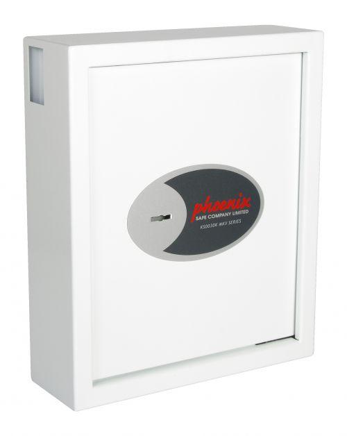 Phoenix Cygnus Key Deposit Safe KS0032K 48 Hook with Key Lock