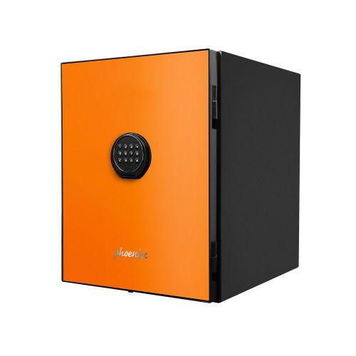 Phoenix Spectrum LS6001EO Luxury Fire Safe with Orange Door Panel and Electronic Lock