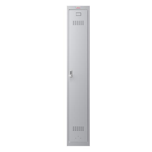 Phoenix PL Series PL1130GGE 1 Column 1 Door Personal locker in Grey with Electronic Lock