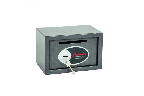 Phoenix Vela Deposit Home & Office Size 1 Safe Key Lock