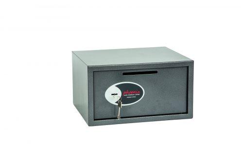 Phoenix Vela Deposit Home & Office Size 3 Safe Key Lock
