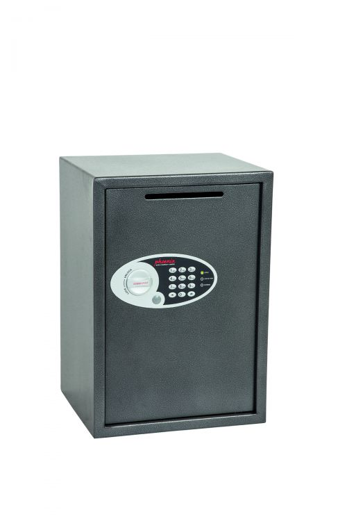 Phoenix Vela Deposit Home & Office SS0804ED Size 4 Security Safe with Electronic Lock