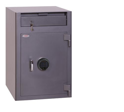 Phoenix Cash Deposit Size 3 Security Safe Fgr Prnt Lock