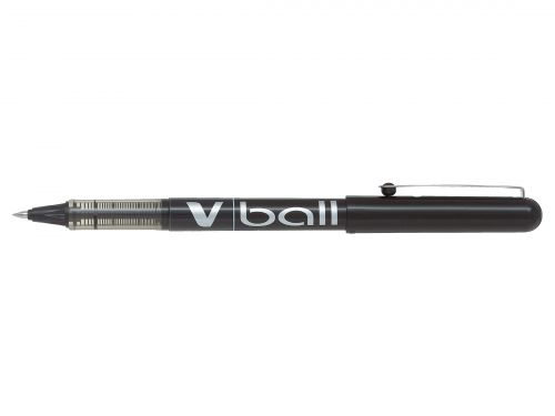 Pilot V-Ball Rollerball Pen Needle Fine Black (Pack of 12) BLVB5-01