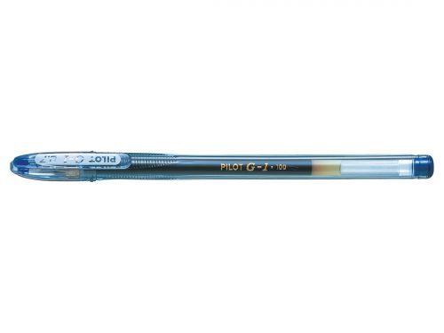 Pilot G1 Gel Ink Rollerball Pen Medium Blue (Pack of 12) G10703