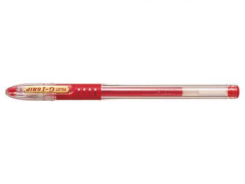 Pilot Roller Ball Point Pen Grip Gel Fine Red